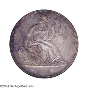 1836 SILVER J-58 GOBRECHT S$1 PF obverse