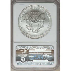 2006 W EAGLE 20TH ANNIVERSARY S$1 MS reverse