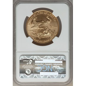 2006 W EAGLE 20TH ANNIVERSARY G$50 MS reverse