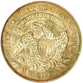 1830/29 10C MS reverse