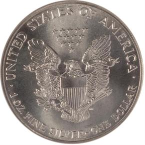 1986 EAGLE S$1 MS reverse