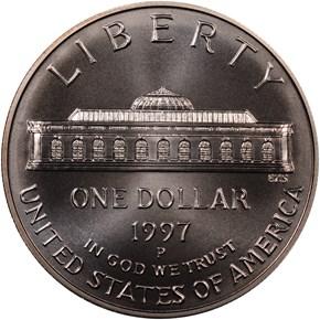 1997 P BOTANIC S$1 MS reverse