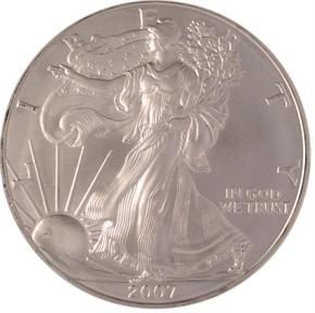 2007 EAGLE S$1 MS obverse