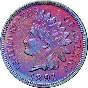 1891 1C PF obverse