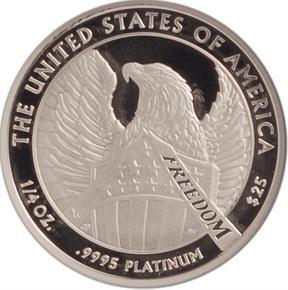2007 W EAGLE P$25 PF reverse