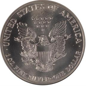 1989 EAGLE S$1 MS reverse