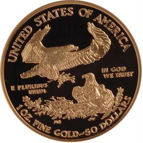 2001 W EAGLE G$50 PF reverse