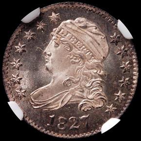 1827 10C PF obverse