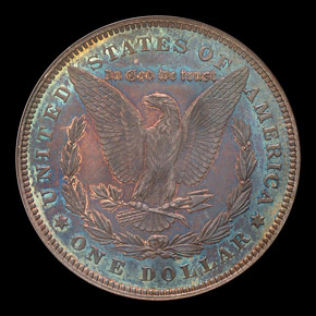 1878 7TF REV OF 78 S$1 PF reverse