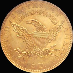 1827 $5 MS reverse