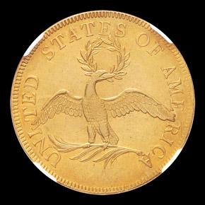 1796 $10 MS reverse