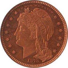 1878 J-1576 $5 PF obverse