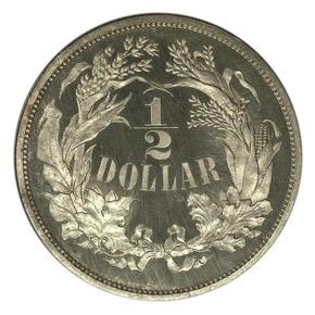 1859 J-239 50C PF reverse
