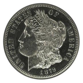 1879 J-1588 10C PF obverse
