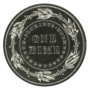 1879 J-1588 10C PF reverse