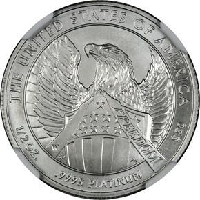 2007 W EAGLE P$50 MS reverse