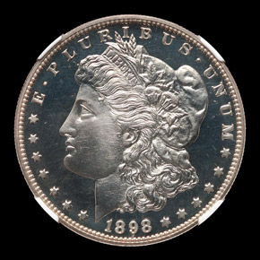 1898 S$1 PF obverse