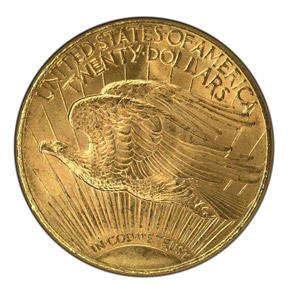 1927 $20 MS reverse