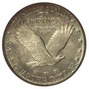 1920 D 25C MS reverse