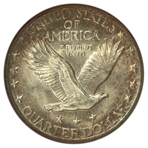 1927 D 25C MS reverse