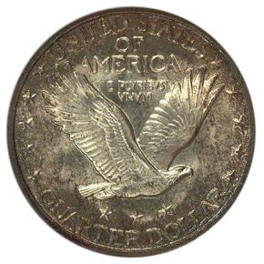 1927 S 25C MS reverse