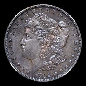 1902 S$1 PF obverse