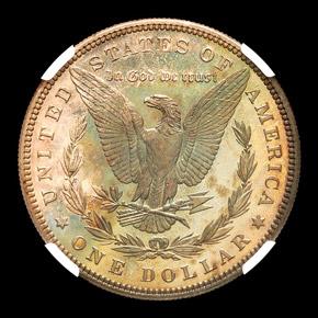 1883 S$1 PF reverse