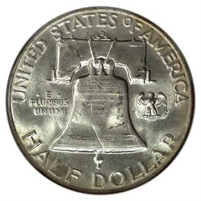 1959 D 50C MS reverse