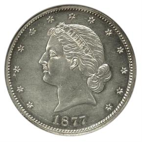 1877 J-1540 50C PF obverse