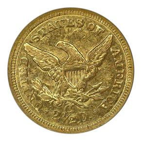 1860 C $2.5 MS reverse