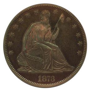 1873 J-1272 50C PF obverse