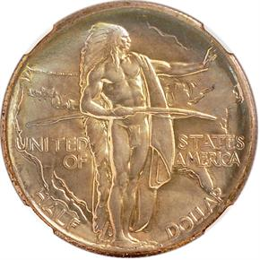 1926 OREGON 50C MS obverse