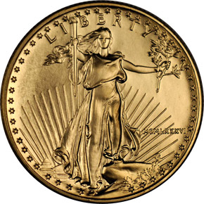 1986 EAGLE G$25 MS obverse