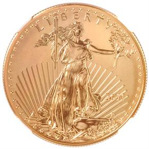 2011 EAGLE G$50 MS obverse