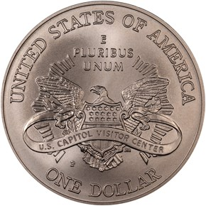 2001 P CAPITOL S$1 MS reverse