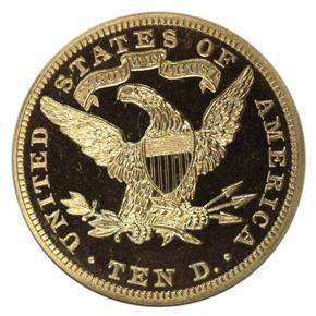 1894 $10 PF reverse