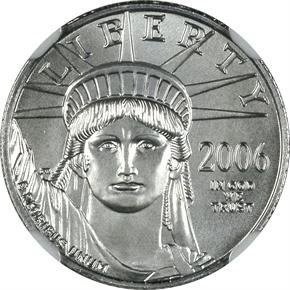 2006 W EAGLE P$10 MS obverse