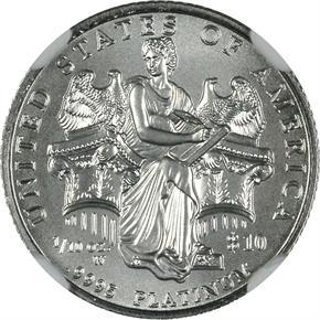2006 W EAGLE P$10 MS reverse