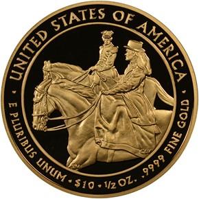 2011 W JULIA GRANT G$10 PF reverse