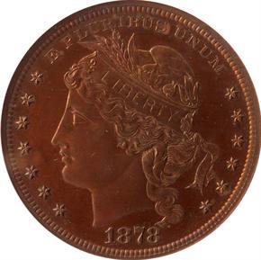1878 J-1562 S$1 PF obverse