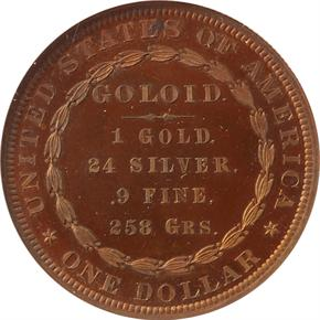 1878 J-1562 S$1 PF reverse