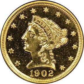 1902 $2.5 PF obverse