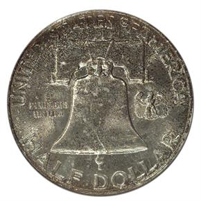 1958 D 50C MS reverse