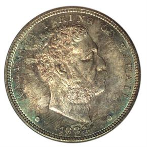 1883 HAWAII S$1 MS obverse