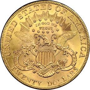 1903 $20 MS reverse