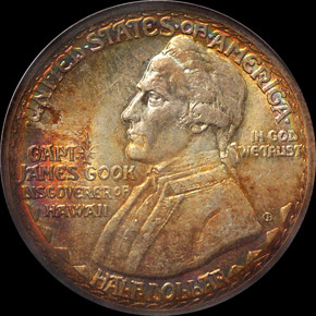 1928 HAWAII 50C MS obverse