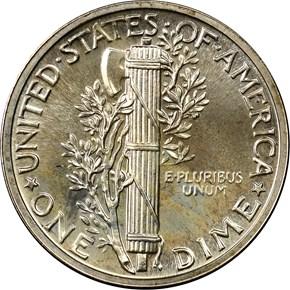 1942 10C PF reverse
