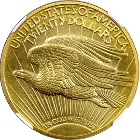 1909 $20 PF reverse