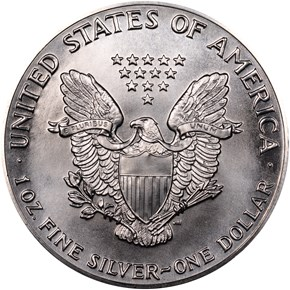 1987 EAGLE S$1 MS reverse