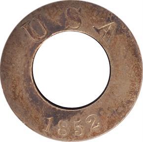 1852 J-138 G$1 PF obverse